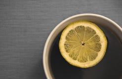 Thee met citroen Royalty-vrije Stock Fotografie