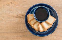 Thee met koekje stock afbeeldingen