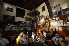 Theehuis en tabakswinkel in Damascus Stock Afbeeldingen