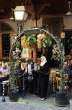 Theehuis en tabakswinkel in Damascus Royalty-vrije Stock Fotografie