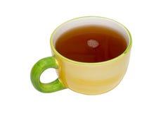 Theekopje met thee. Stock Afbeeldingen