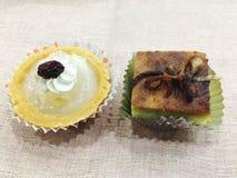 Theetijd, dessert Stock Afbeeldingen