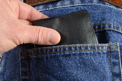 Theft. Again a pickpocket in action Royalty Free Stock Photo