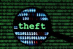 Theft concept Royalty Free Stock Photo