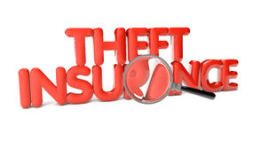 Theft insurance Stock Photo