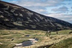 TheHighlandsberg kleurrijk Schotland het UK Stock Foto