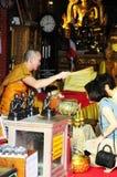 Thei monk stock photography