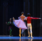 And their backs- The second act second field candy Kingdom -The Ballet Nutcracker. Ukraine Kiev theatre ballet dancers perform the Nutcracker in Nanchang in royalty free stock photography