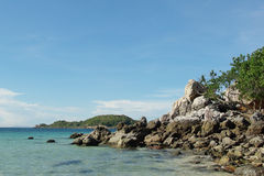Their best sea in Thailand. Air ,art ,autumn ,backdrop ,background ,beauty ,blue Royalty Free Stock Photography