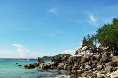 Their best sea in Thailand. Andaman ,asia ,asian ,bay ,beach ,beautiful  ,blue ,boat Royalty Free Stock Images