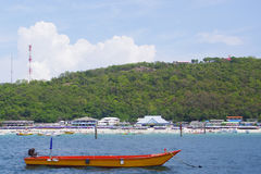 Their best sea in Thailand. Andaman ,asia,asian,bay,beach,beautiful,blue,boat Royalty Free Stock Image