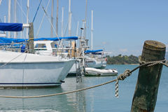 At their moorings Royalty Free Stock Photography