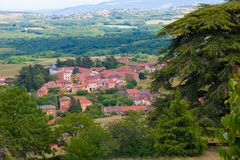 Theizele, boitier,,rhone,france Royalty Free Stock Photos