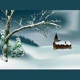 Thema 02 van Kerstmis stock illustratie