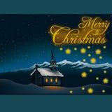 Thema 05 van Kerstmis vector illustratie