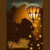 Thema 06 van Kerstmis stock illustratie