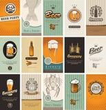 Thema des Bieres Lizenzfreie Stockfotos
