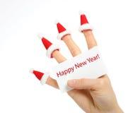 Thema des neuen Jahres Stockfotografie