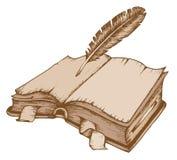 Themabild 1 des alten Buches Lizenzfreies Stockfoto