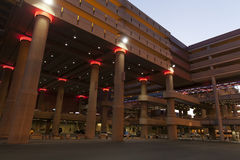 TheMain Parking Garage at McCarran Airport in Las Vegas, NV on J Stock Photography