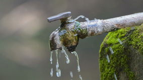 Thematic HD stock footage on save water theme. Water leaking from pipe, wastage movie clip stock video footage