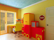 Thematic nursery. Royalty Free Stock Images