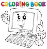 Thematics 1 del ordenador del libro de colorear libre illustration