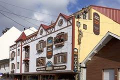 Thematische Galerie in Ushuaia, Argentinien lizenzfreie stockfotografie