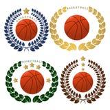 The theme basketball Stock Photo