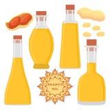 The theme bottles oil Stock Photos