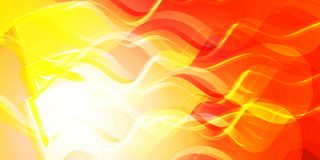 Theme of fire for the banner. Bright red and orange glare on a gentle background for a fabric or postcard Royalty Free Stock Photos