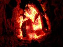 The theme flame Stock Photos