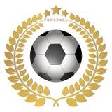 The theme football Stock Photo