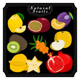 The theme fruits Stock Photography