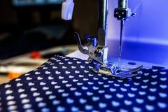 The theme of needlework , sewing, dressmaking, sewing machine Stock Photos