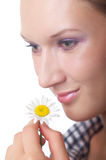 Theme Of Natural Cosmetics Royalty Free Stock Photography