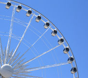 Theme Park. Ferris wheel in a  Theme Park Royalty Free Stock Photography