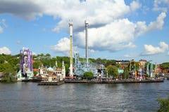 Theme park stock photos