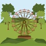 Theme park design Stock Photography