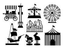 Theme park design Stock Image