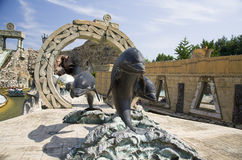 Theme park Gardaland Stock Photography