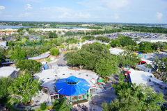 Theme park. Legoland theme park - city resort and hotel stock photography