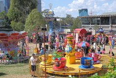 Theme park Melbourne Royalty Free Stock Image