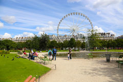 Theme Park in Paris -France Stock Photography