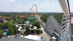 Theme park Stock Image