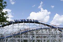 Theme park roller coaster Royalty Free Stock Photo