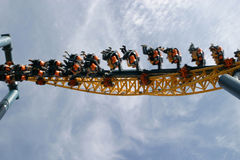 Free Theme Park Roller Coaster Stock Images - 2409954