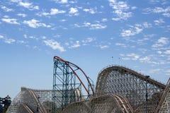 Theme park skyline Stock Photo