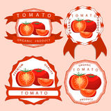 The theme red tomato Royalty Free Stock Photography