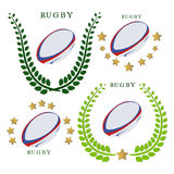 The theme rugby Stock Image
